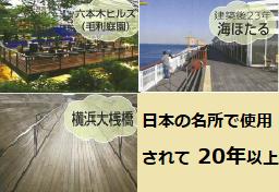 毛利庭園と海ほたると横浜大桟橋