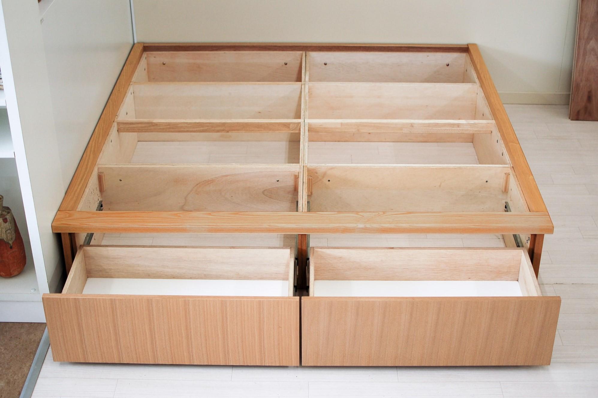 畳ユニット2畳の収納スペース