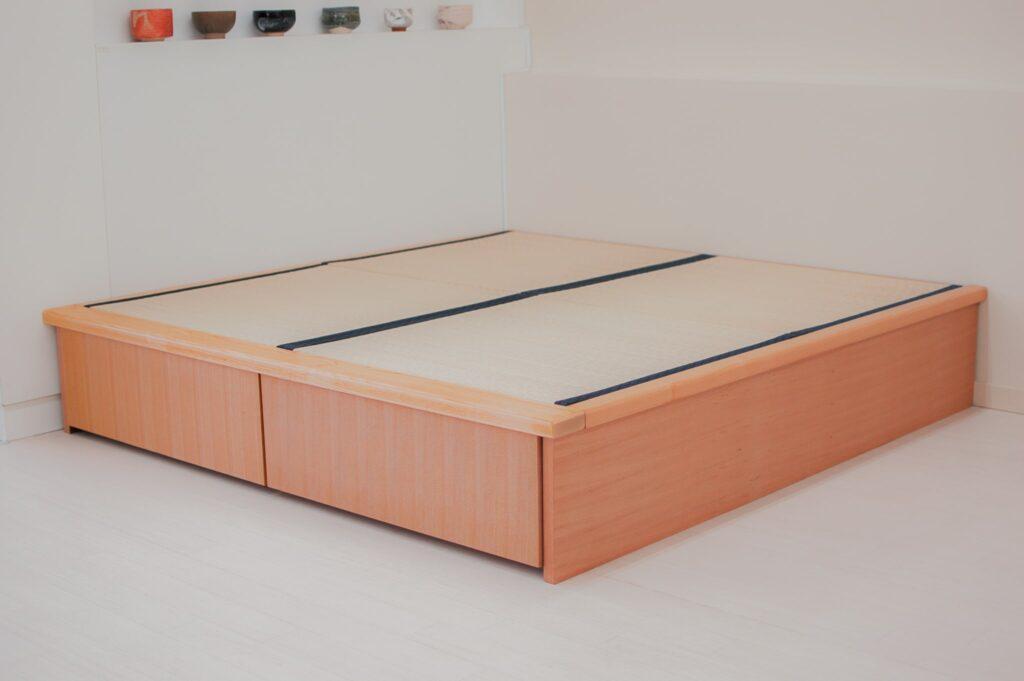 畳ユニット2畳ナチュラルの畳フチあり