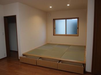 畳ユニットの収納